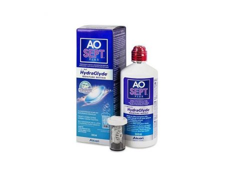 AoSept Plus mit HydraGlyde (360 ml)